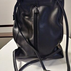 Piccard leather backpack
